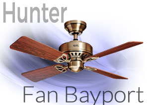 Hunter Fan Bayport Ventilador de techo