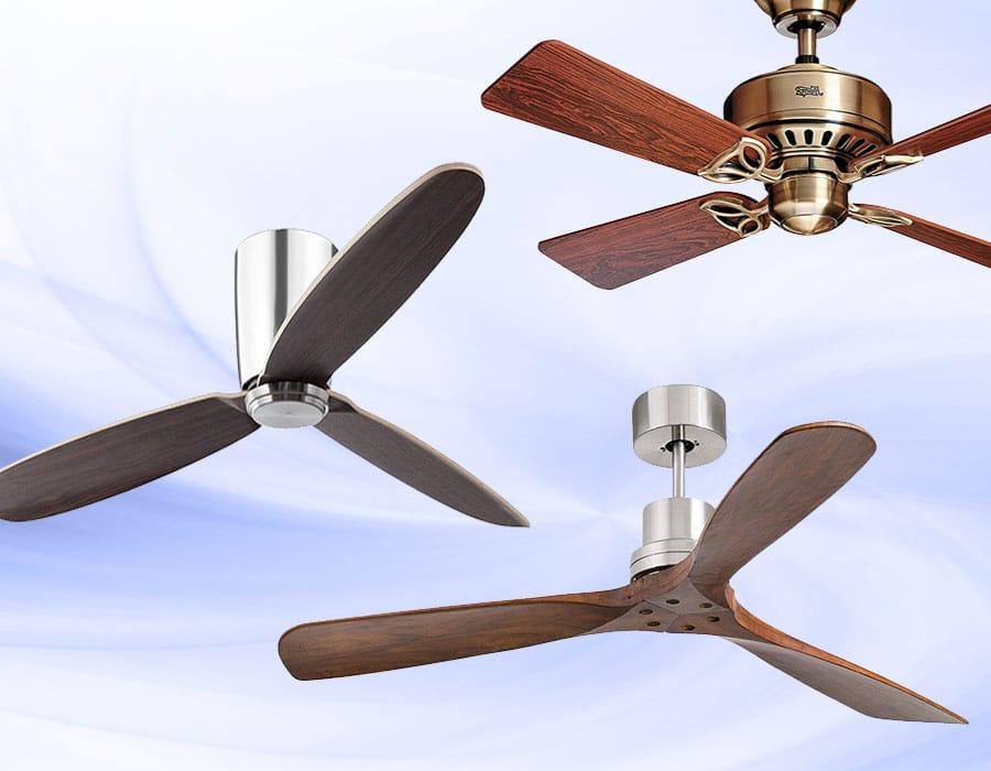 Luz del ventilador de techo Mudo Moderno Simple Metálico 100